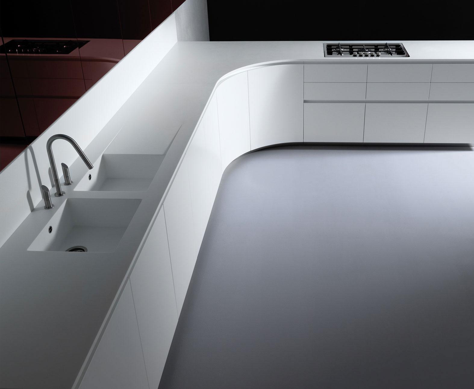 Corian worktops accessories glotech for Corian sink accessories